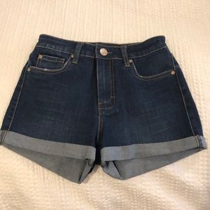 STS Blue Shorts - High waist jean shorts